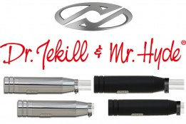 Jekill & Hyde elektrisch verstellbare Töpfe für Harley original Krümmer