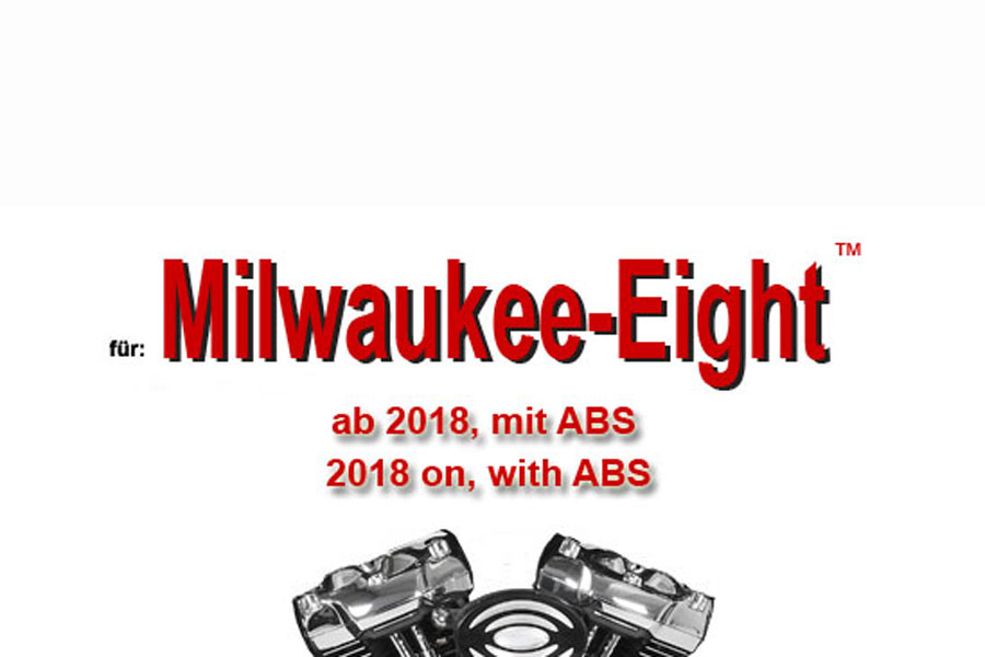 Milwaukee - Eight ™ Modelle ab 2018 mit ABS