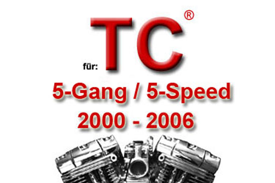 Twin Cam® 5-Gang Modelle 2000 bis 2006