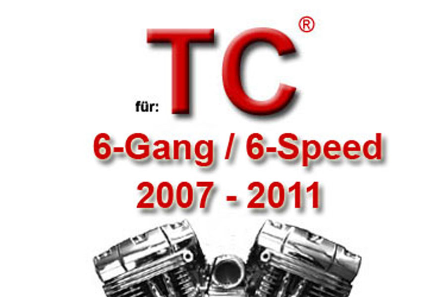 Twin Cam® 6-Gang Modelle 2007 - 2011