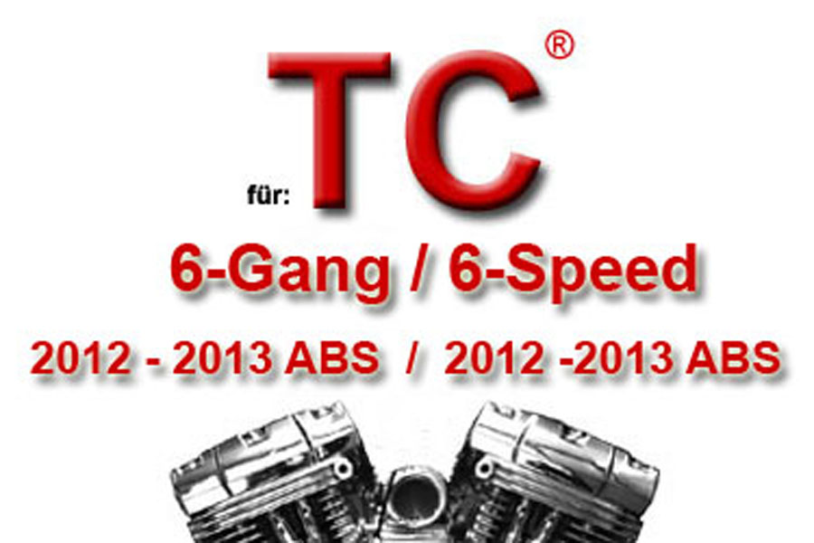 Twin Cam® 6-Gang Modelle 2012 - 2013 mit ABS