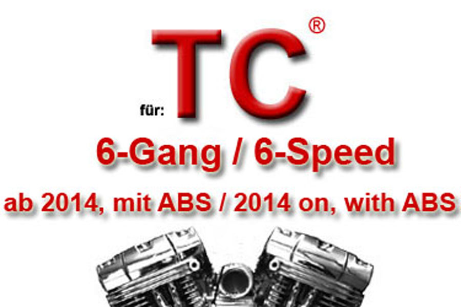 Twin Cam® 6-Gang Modelle 2014 - 2017 mit ABS